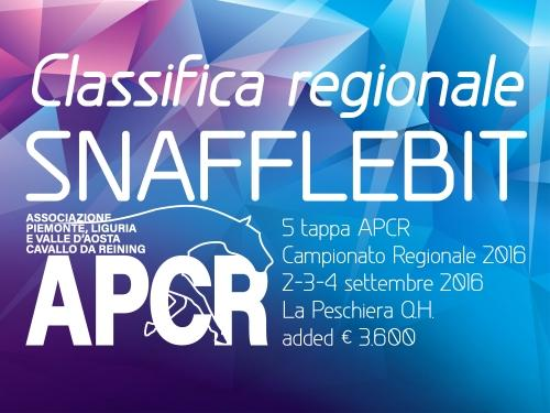 Classifica regionale dopo la 5 tappa APCR 2016