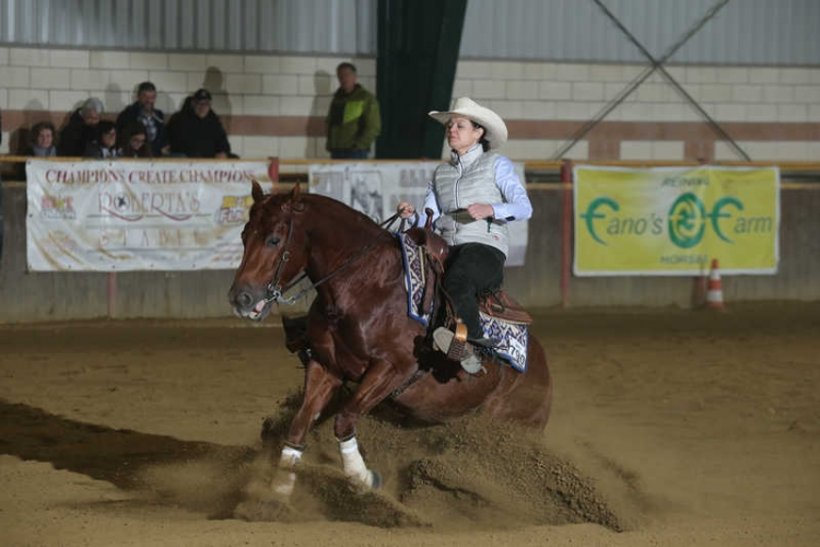 NRHA BACK TO THE FUTUR...ITY APCR 2019 - RIZZOLA CLAUDIA & PEPPY KING SANBADGER score 69,5