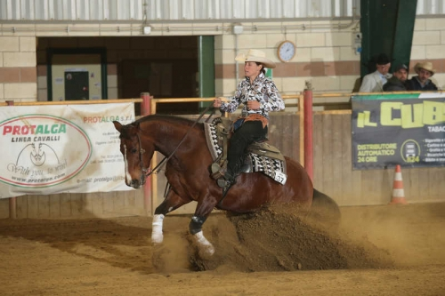 NRHA APCR APRIL CIRCLES 2019 - COSTAMAGNA ERIKA & Sana Doc King score 70,5