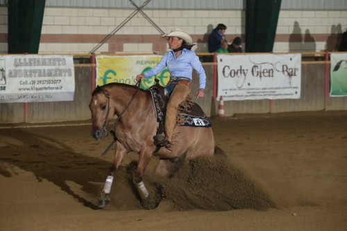 NRHA APCR APRIL CIRCLES 2019 - GIANFORMAGGIO ROBERTA & BURST TO THE BEAT score 70