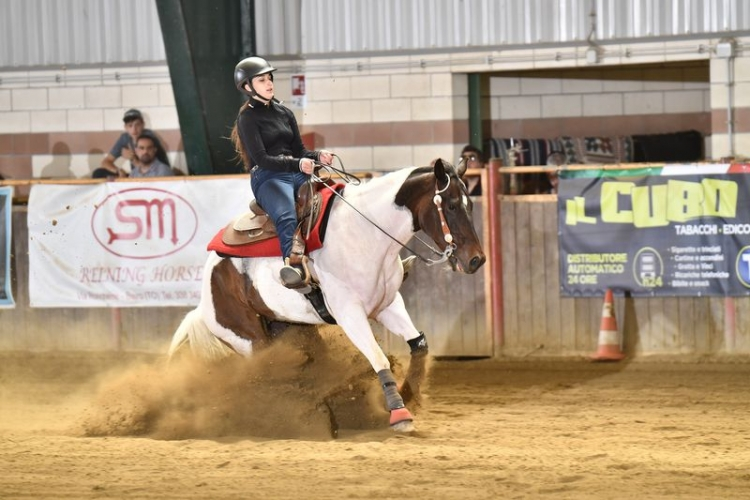 NRHA APCR SUMMER SLIDE 2019 - TANCREDI MARTINA & TS BLACK LABEL HUNTRES score 68,5