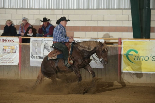 NRHA APCR APRIL CIRCLES 2019 - BOGGERI MARCO & MB MISS TINSELLROME score 69,5
