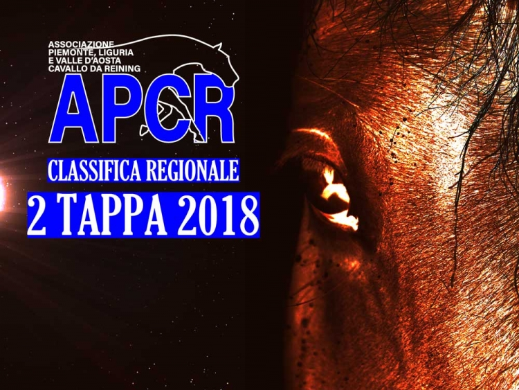 Classifica regionale dopo la 2 tappa APCR 2018