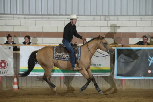 NRHA APCR SEPTEMBER SPINNING SPURS 2019 - MUSERRA PAOLO & DOCS JAKE AGAIN score 68