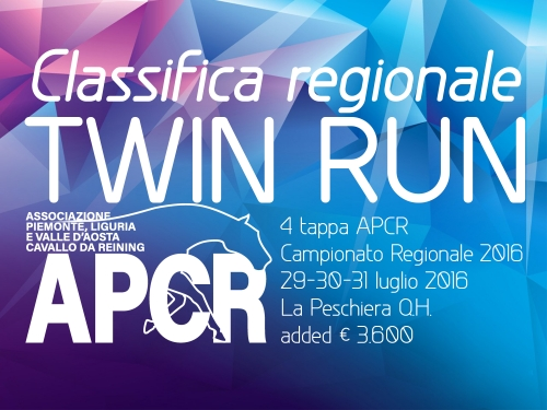 Classifica regionale dopo la 4 tappa APCR 2016