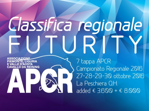 Classifica regionale dopo la 7 tappa APCR 2016