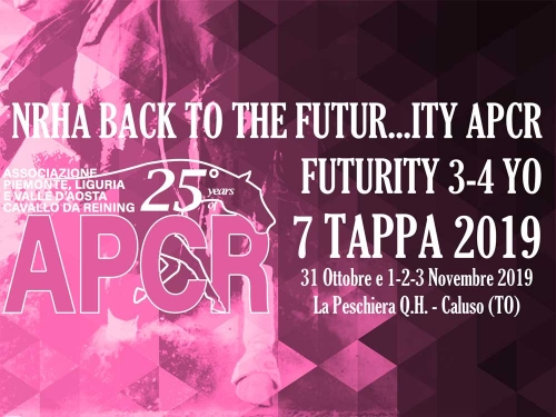 NRHA BACK TO THE FUTUR...ITY APCR 2019