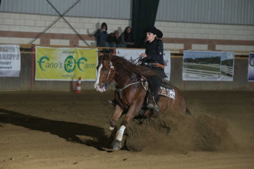 NRHA BACK TO THE FUTUR...ITY APCR 2019 - CANZONE BARBARA & SPARKANGELINA score 69,5