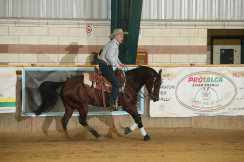 NRHA APCR APRIL CIRCLES 2019 - MOSSINO LUCA MARIO & DG HICKORY SAIL score 67,5